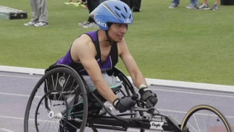 Paralympic athlete has racing wheelchair stolen