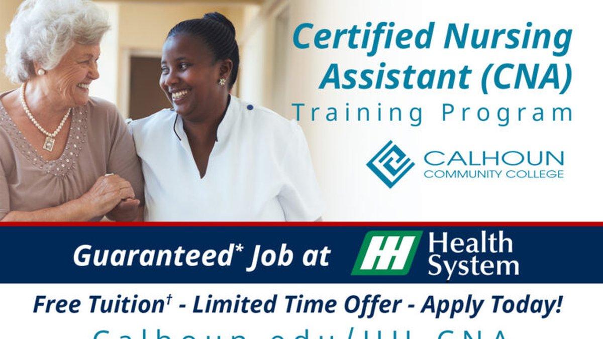 Calhoun partners with Huntsville Hospital to train CNAs