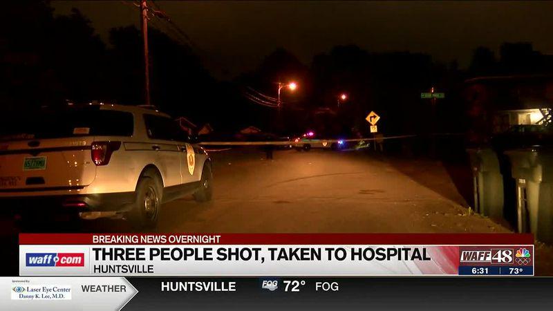 Police investigating overnight shooting in Huntsville