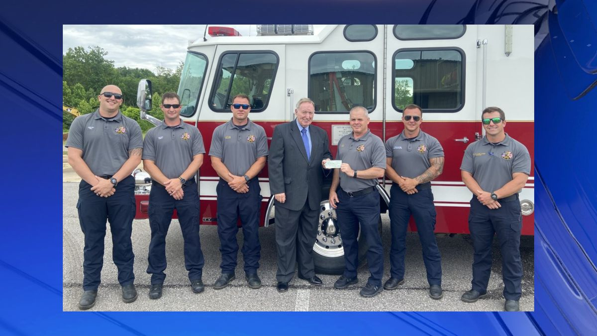 Athens Fire receives over $15,000 in grant money for new AEDs