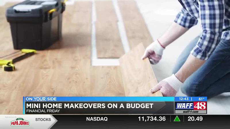 Mini home makeovers on a budget