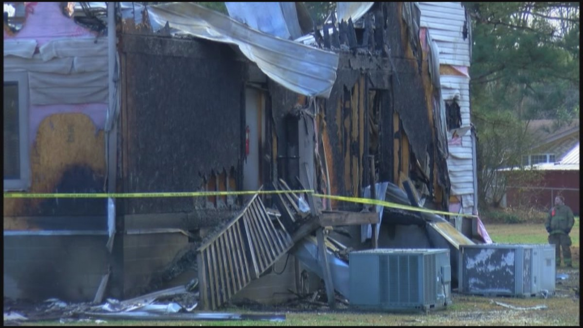 A fire left Lifepoint Church in Albertville partially destroyed.