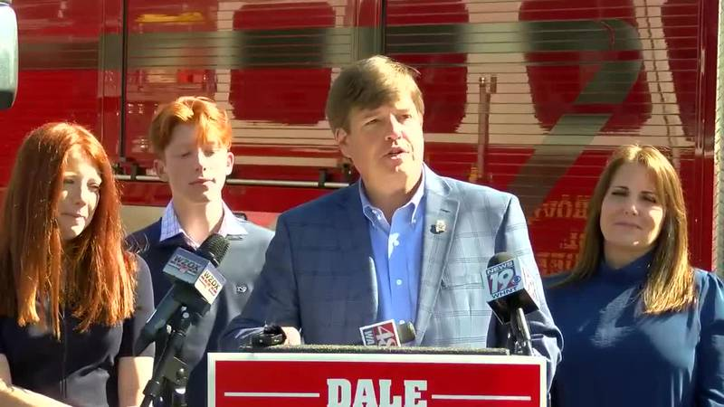 Madison County Commission Chairman Dale Strong discusses a potential run for U.S. Congress