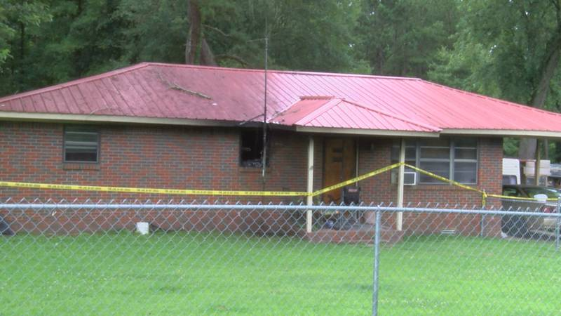 House fire on Richmond Ave in Albertville.