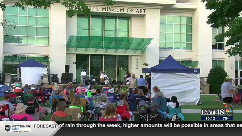 Concerts in the Park are back in downtown Huntsville!