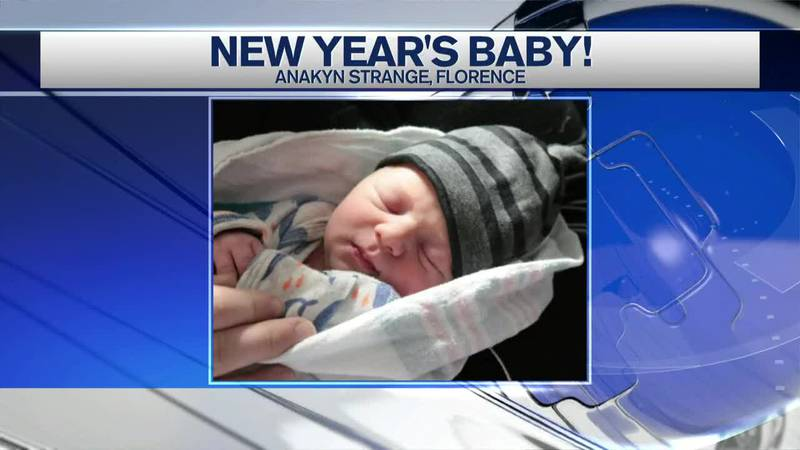 First baby of 2021 born in Florence