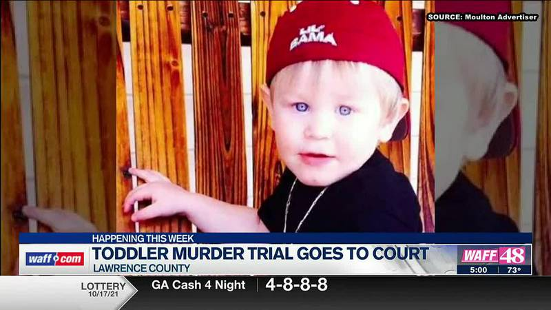 Toddler murder trial goes to court