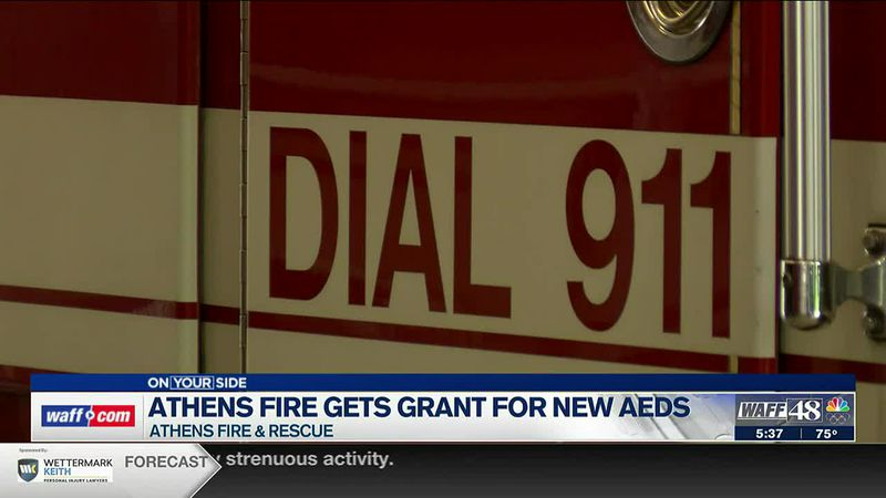 Athens Fire gets new AEDs