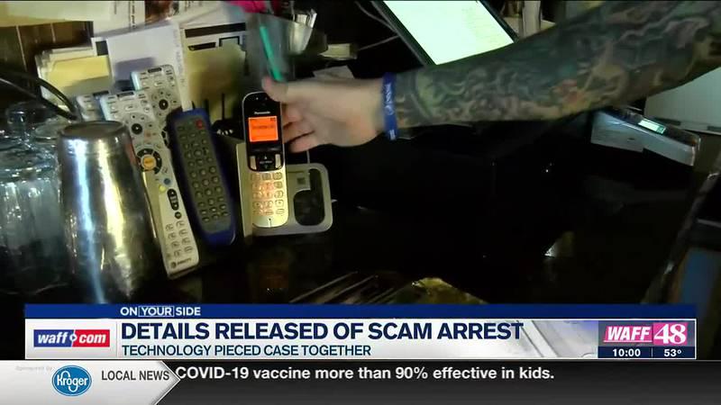 Details released of scam arrest