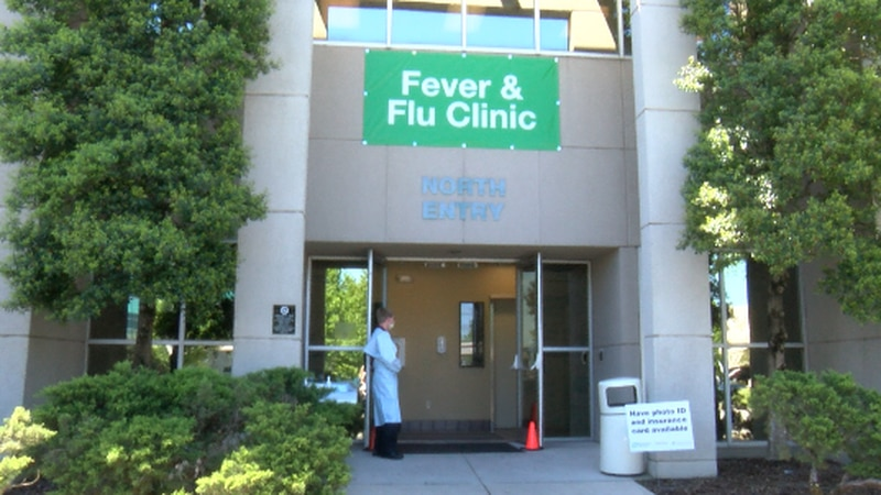 An administrator with Huntsville Hospital says the clinic was first seeing about 200 patients...