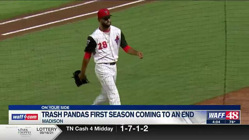 Trash Pandas first season coming to an end