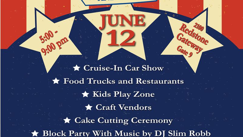 The fun starts at 5 p.m. Saturday and ends at 8:30 p.m. with a fireworks show.