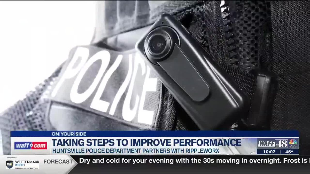 Rippleworx is helping law enforcement take steps to improve performance