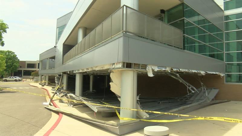 The portion of the arena that collapsed was an addition back in 2010.