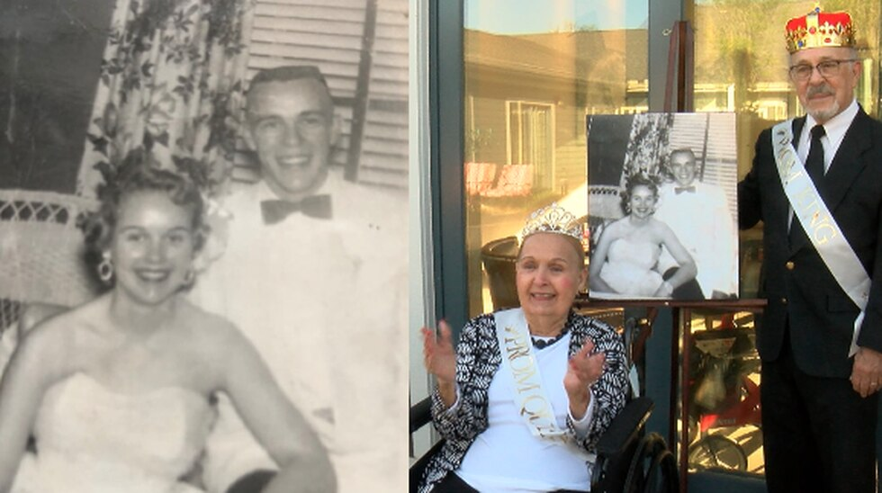 John Thomas and Sara Thomas won the title in 1956 at Butler High School, and were crowned again...