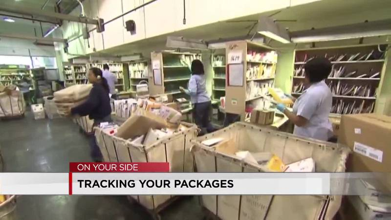Tracking your packages