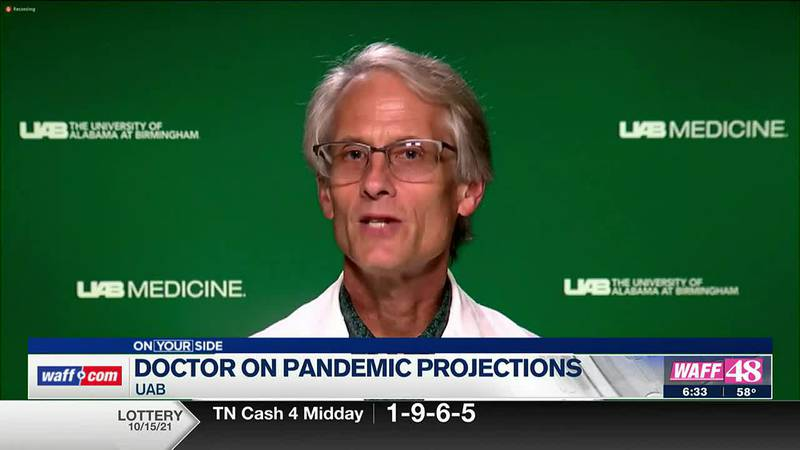 A doctor at UAB is optimistic we may be close to the end of the pandemic.