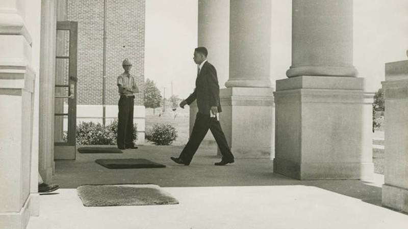 Dave McGlathery was the first black man to attend UAH (Source: Alabama Archives)