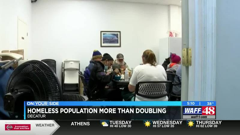 Homeless population more than doubling