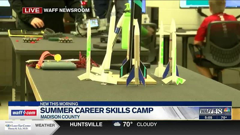 Summer career skills camp in Madison County