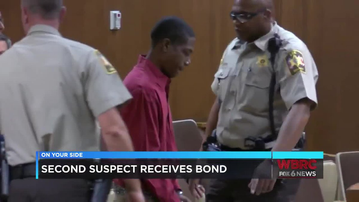 Second suspect in Aniah Blanchard's disappearance receives bond