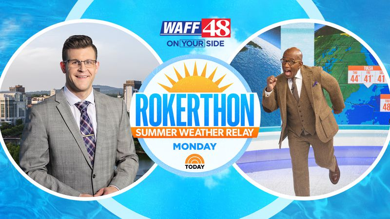TODAY Rokerthon Summer Weather Relay Monday