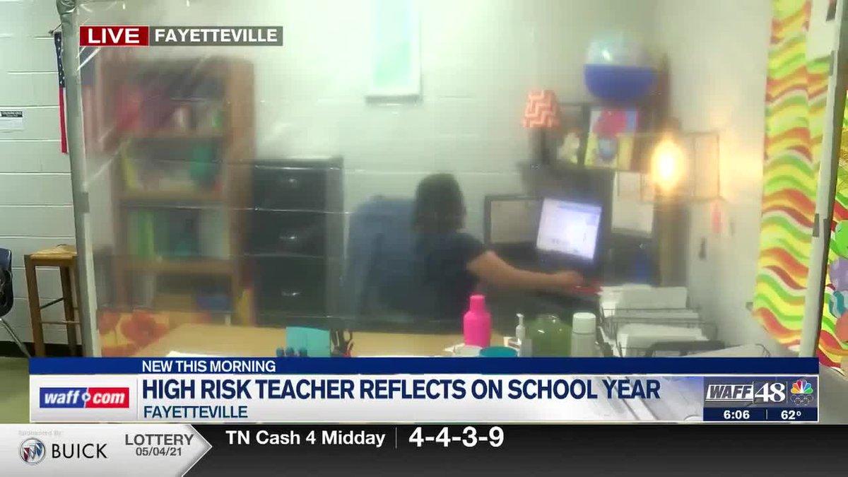 High-risk teacher reflects on school year