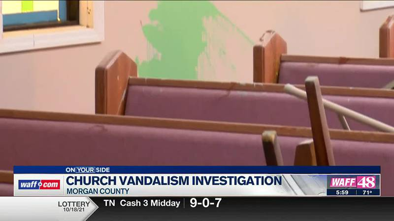 Church vandalism investigation