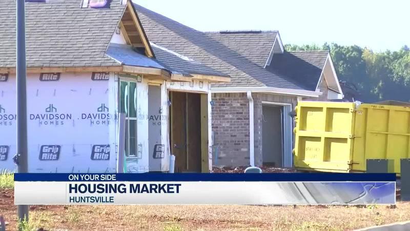 Housing market boom in Huntsville
