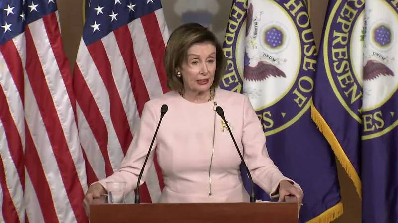 """House Speaker Nancy Pelosi told colleagues Wednesday that Democrats are in """"pretty good shape""""..."""