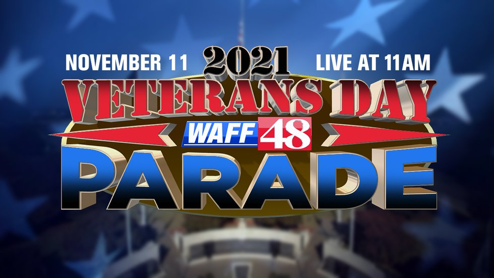 2021 Veterans Day Parade on WAFF 48
