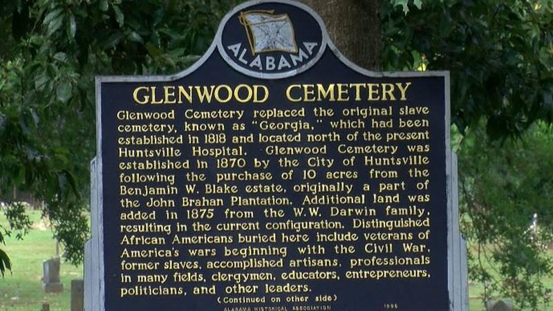 Glenwood Cemetery established 1870