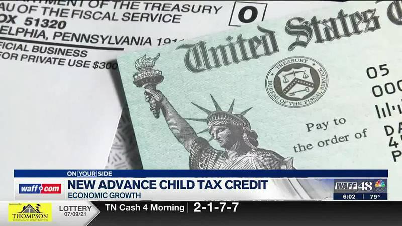 New advance child tax credit