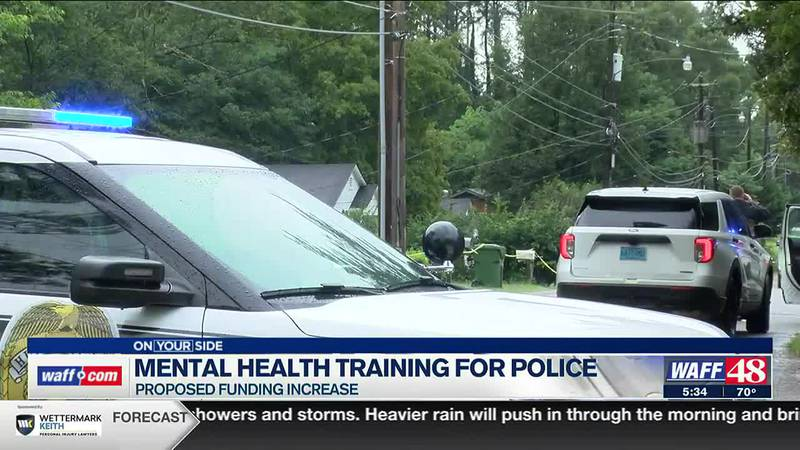 Funding increase proposed for police mental health training