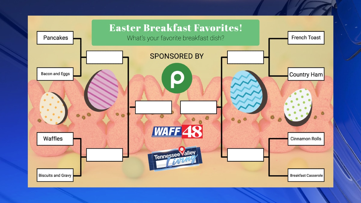 Vote for your Easter Breakfast Favorites