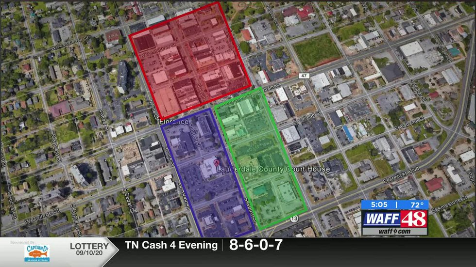 Florence Police create protest zones