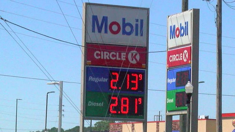 Gas prices for Labor Day Weekend