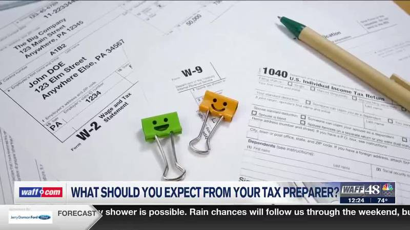 What should you expect from your tax preparer?