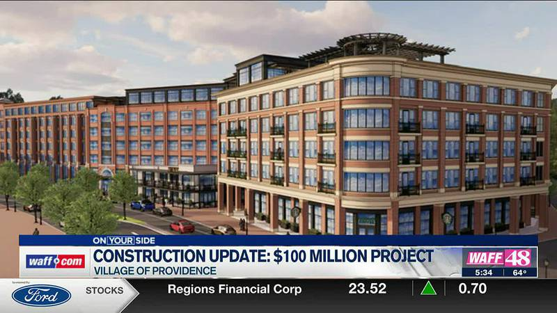 2020 at Providence construction update