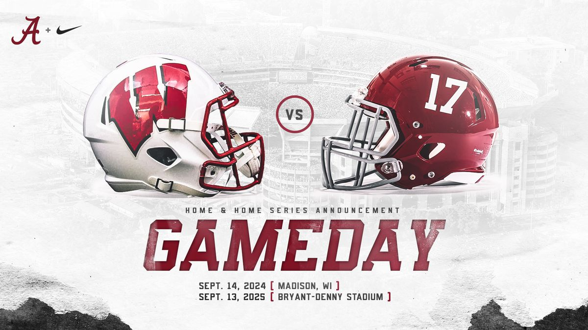 Alabama, Wisconsin announce home-and-home