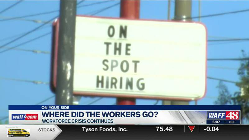 Where did the workers go?