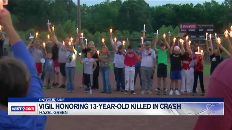 Vigil honoring 13-year-old killed this weekend, Group calling for Huntsville Mayor, Police...