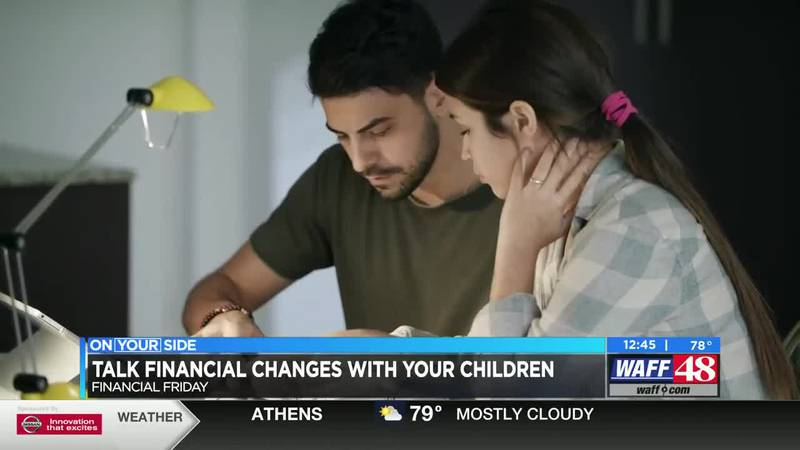 Talking financial changes with your children