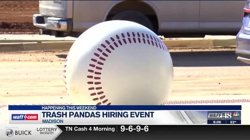 Trash Pandas hiring event