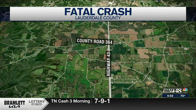 Lauderdale County crash claims life on 81-year-old woman