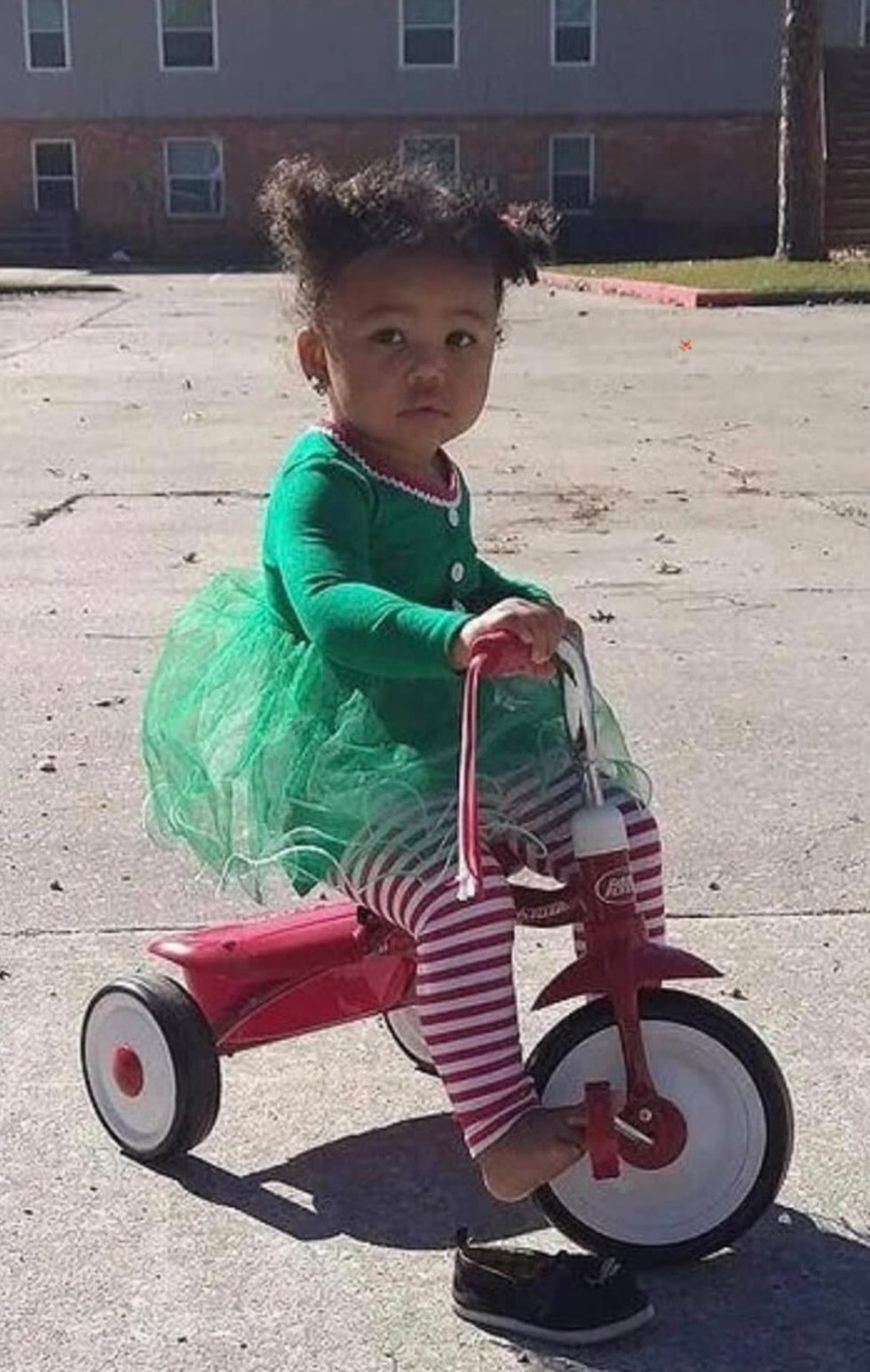 Nevaeh has black hair, brown eyes, and weighs around 20 pounds. She was last seen wearing a...