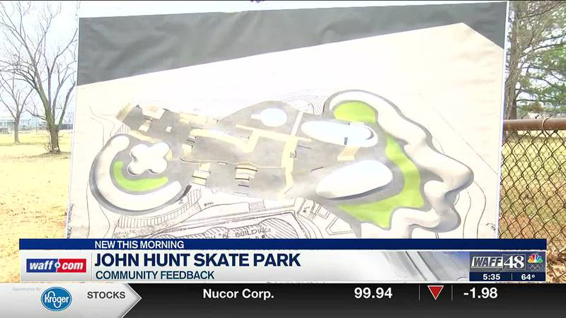 Community feedback needed on John Hunt Skatepark