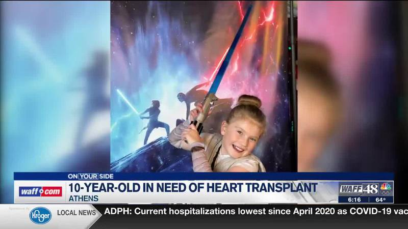 An update on Bella Winters, the 10-year-old girl in need of a heart transplant