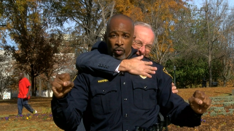 Officer Lane Harper, with the Birmingham Police Department has some self defense techniques.