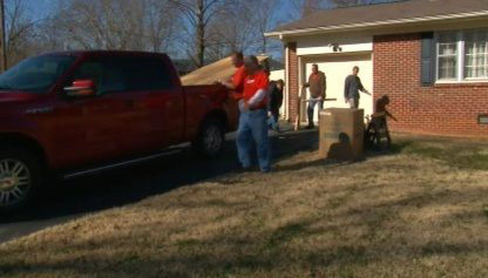 The makeover mission will only take two days, and crews expect to be out of Walls' home by...